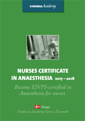 Nurses Certificate in Anaesthesia