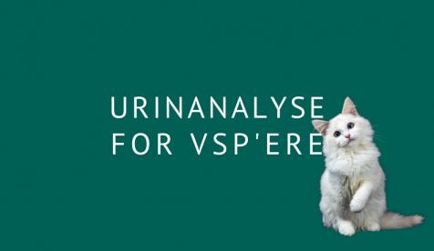 Urinanalyse for vsp'ere